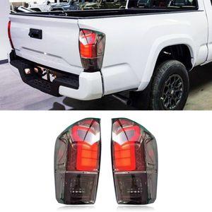 1 Set Car styling LED Taillight Red Rear Tail Light For Toyota Tacoma 2016 - 2020 Pickup Brake Lamp brake light warning lamp