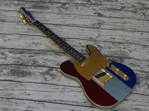 High Quality Electric Guitar, Unique Tricolor Design