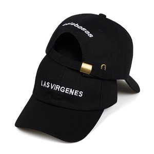 2019 New Las Virgenes Embroidery Dad Hat Calabasas Baseball Caps Kanye West Embroidery Cotton Dad Hat Adjustable Q0325