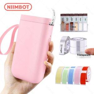 Printers Pink D11 Portable Thermal Printer Adhesive Paper Wireless Sticker Machine Mini Handheld Inkless Label Makers Niimbot