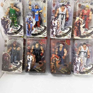 Ryu Figure NECA Action Figure Chun Li Figure Chun-Li Hoshi Ryu Akuma Chunli Gouki Guile Ken Action Figures Collection Toy Gift C0323