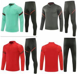 Portugal veste de football survêtement 2020 2021 Portugal RONALDO Football Sportswear entraînement Jersey Jogging hommes Chandal Football Foot