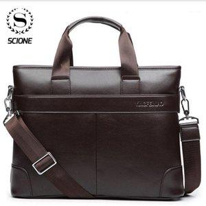 SCISE 2020 Hombres Bolsa de maletín Oficina Hombres Bolsos de negocios Hombre Viajes Bolsos de negocios para hombre Bolsa Maletín Portátil Portátil Tote1