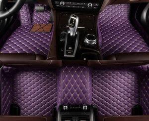Custom car floor mats for Volkswagen touareg passat golf touran tiguan sedan