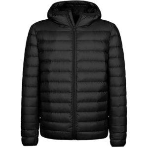 Мужчины с капюшоном с капюшоном пуховик легкий зимний пуховый пальто теплый