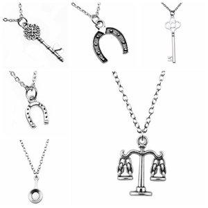 Boyfriend Gift 1Pcs Home Pendant Chain Necklace Women 43+5Cm Chains