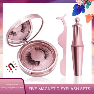 3D Magnetic Eyelash Self-adhesive Liquid Eyeliner Set