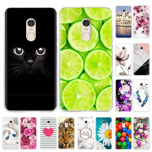 Soft Silicone 5.5'' For Note 4X Global Version Case Cover Painting TPU Phone 4 Cases Funda