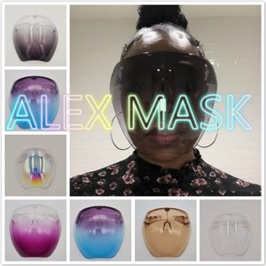 Scudo viso Maschere protettive Goggles Sicurezza BLOCC Occhiali Anti-Spray Mask Moda Occhiali da sole Desinger Anti-FOG Anti-FOG A Proiatura a prova di polvere e a prova di freddo