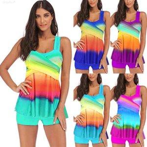 Bikini Set Plus Tankini Size Swimwear Womens Beachwear Swimsuit Raiow Bathing