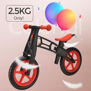 Ultralight Bike For Kids 3~6 Ages Child Toddler Walker Riding Bicycle Toy Learn To Ride Bicicleta No-Pedal Pre Bikes