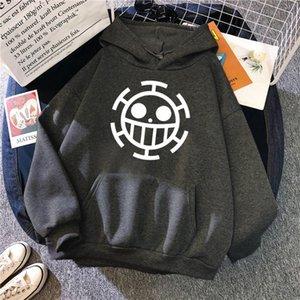 Men's Hoodies & Sweatshirts Straw Hat Japan Harajuku Street Prints Hoodie Autumn Warm Fleece Clothing Fashion Comfortable Crewneck Tops Loos