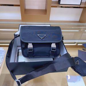 حقيبة الرجال حقيبPrada cross-body bagة sacoche أوم رسول crossbody حقائب أعلى جودة حقائب اليد المحافظ لونين