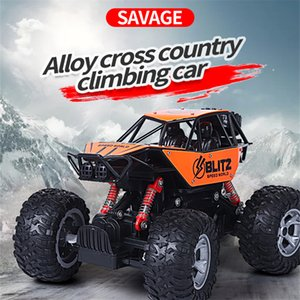 4WD RC Cars 2.4G Remote Control Alloy Climbing Car Vehicle High Speed Remote Buggy Trucks Off-Road Trucks Toys for Children