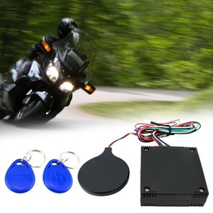 Anti Theft RFID Motorcycle Hidden Lock System With Engine Cut Off Immobilizer IC Card Alarm Induction Invisible Anti-steal Protection