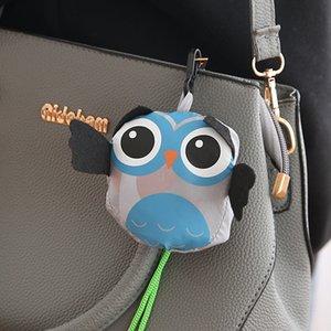 Sevimli Karikatür Baykuş Kullanımlık Alışveriş Çantası Seyahat Katlanabilir Bakkal Çanta Tote Çanta Çevre Dostu Mutfak Organizasyon Saklama Torbaları 917 B3