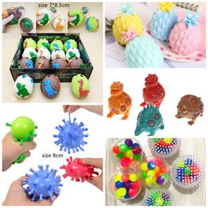 Fidget Brinquedo Colorido Malha Squishy Anti Stress Balls Esprema Brinquedos Descompression Ansiedade Ventinagem Presente Para Crianças