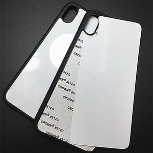 Blank 2D Sublimation TPU PC phone Cases for iPhone 12 11 Pro Max SE 8 8plus X xr xs with Aluminum Inserts