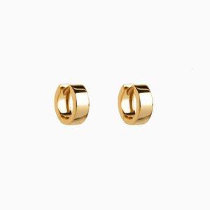 Aide 925 Sier Huggie Earrings for Women 2021 Trend Gold Hood Orrbel Fashion Jewelry Pendientes Brincos Aretes Joyero Gifts