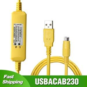 Pour Delta DVP es ex Eh EC SE SS SS SS PLC Programmation Cable USB à RS232 Télécommandes de télécommande USB-DVP série XINJE XC / XD / XE