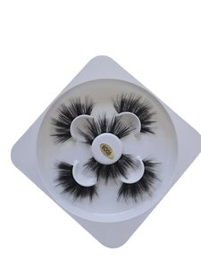 3 pairs Dramatic Messy Faux 3d Mink Eyelashes Wispy Natural Long False Eyelash Makeup Fake Eye Lashes Extension For Beauty