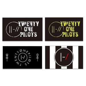 Twenty One Pilots Flag 3*5FT 90*150cm Banner For Decoration Indoor Or Out Door Polyester Advertising Promotion CCF5804