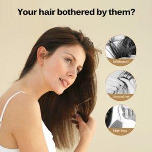 Hair Care Shampoo 200ml Smooth & Shine Hair Care Mask Treatment Hair Care Product Moisturizing Damageg Repair Anti LossScouts