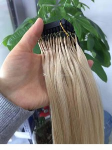 Customized Available 6D Human Hair Extensions 9A #16 #613 #60 Brazilian Virgin Hair Blonde 100Strands 100gram set Can Be Styled With Iron