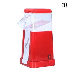 Popcorn Maker Automatic Machine US   EU Plug For Home Powerful Fat Free Quick Preparation Household Kitchen Au4 21 Dropship