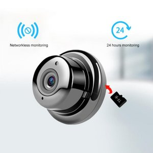 Camcorders V380 Brand Mini Wifi Remote Network Camera 1080P Night Vision Home Office Security Monitor Wireless Baby