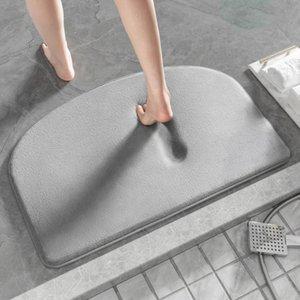 Carpets Bath Mat Entrance Door Super Absorbent Bathroom Mats Quick Drying Carpet Modern Simple Non-Slip Floor Home