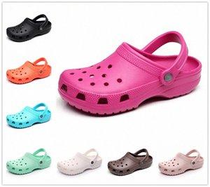 Hausschuhe Sommer Crosts Slip On Casual Garten Wasserdichte Schuhe Frauen Nursing Clogs Krankenhausarbeit Medizinische Sandalen 149d #