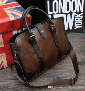 original desig originals design brand fashion color bag sewing men leather business mens handbag briefcase retro fashions factory direct