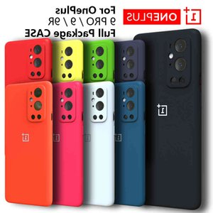 For OnePlus 9 Pro Case High Quality Liquid Silicone Soft Cover One Plus 8 9Pro 9R 8 Nord 8T 8Pro Phone