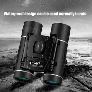 HD 40x22 Military Binoculars Mini Portable Professional Hunting Telescope Zoom High Quality Vision Non-infrared Glasses
