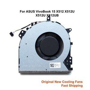 CPU CPU مراوح التبريد ل ASUS Vivobook 15 X512 F512 X512U X512DA X512UF 13N1-6TA0U12 6TA0U11 محمول مروحة برودة تبريد المبرد