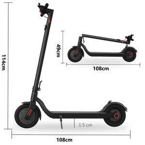 EU warehouse Drop Ship 350W Honeycomb Tyre Folding Scooter 8.5 inch 10.4Ah adult M1 Electric Scooter with App function