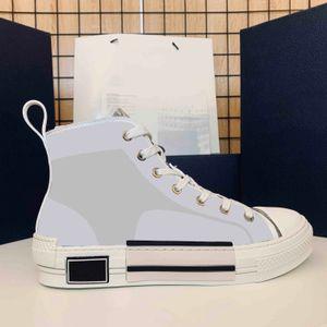 Mode Frauen Männer Leinwand Schuhe Limited Edition Liebhaber Gedruckt Turnschuhe Vielseitig Hoher zufälliger Schuh mit Originalverpackungsbox Größe 35-46