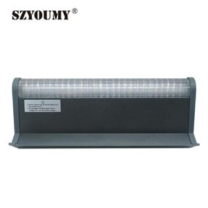 Solar Lamps SZYOUMY Billboard Sign Light 30cm 60cm Outdoor Waterproof 48 Led Advertisement Lights White For Building Bus Stop