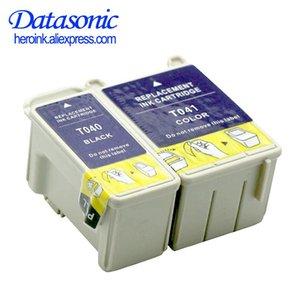 Ink Cartridges Datasonic Compatible For T040 T041 With Chip Cartridge Stylus C62 CX3200 C-62 C-X3200 C 62 CX 3200