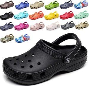 new high quality 2021 Slip On Casual Beach Clogs Waterproof Shoes Women Classic Nursing Clogs Hospital Women Work Medical Sandals men Sandsls