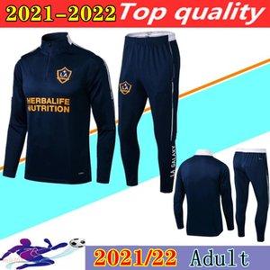 2021 2022 MLS La Galaxy Soccer Training Suit Valuta Chandal Futbol 21 22 Chicharito Pavon Maglione Maillot deleva Giacca da calcio Felpa Jogging