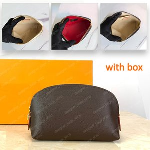 2021 High Quality Cosmetic Pouch Makeup Bags Mini Bag Toiletry Cases Luxury Clutch Travel Classic Purse PM Size Fashion Crossbody Handbag for Gifts With Box M47515