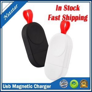 Mini Portable Wireless Charger Dock Adapter Fast Charging Smart Watch Wireless Charging Base