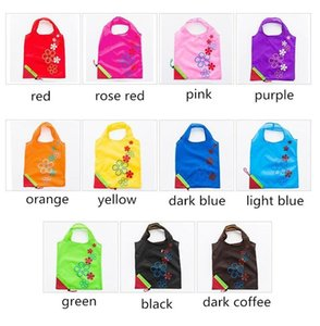 NEWReusable Portable Shopping Grocery Bag Large Size Folding Strawberry Shopper Tote Home Storage Bags Convenient Pouch LLB8498