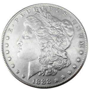 90% Silver US Morgan Dollar 1888-P-S-O NEW OLD COLOR Craft Copy Coin Brass Ornaments home decoration accessories