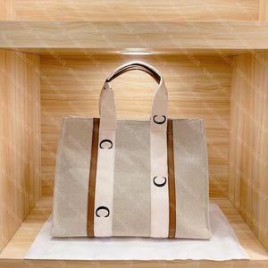 Bolsas para mujer Totes Monederos Woody Handbag Mujeres Diseñador de bolsas Crossbody Designers Hombro Lujos 2021 Bolsa Big 2104021 KJEAA
