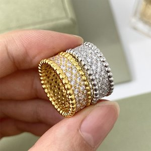 women Designer ring cleef Rings Necklaces Screw Bracelet carti Party Wedding Couple Gift Loves Fashion Luxury van Ring Bracelets with box asdfeashvjghsdgfdshhh