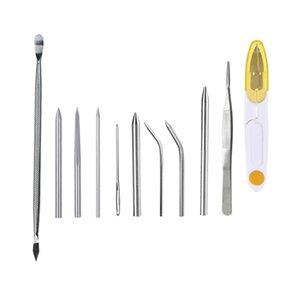 Outils de nœuds 4/9 / 12x, Set Fid Paracord Set En Acier Inoxydable Lacin Gadgets extérieurs