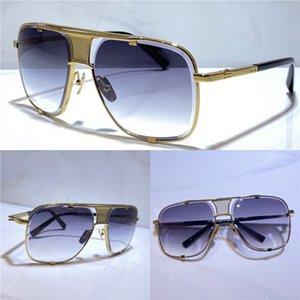M cinco gafas de sol de verano para hombres y mujeres estilo anti-ultravioleta retro placa cuadrada marco completo de fotografías de moda caja aleatoria